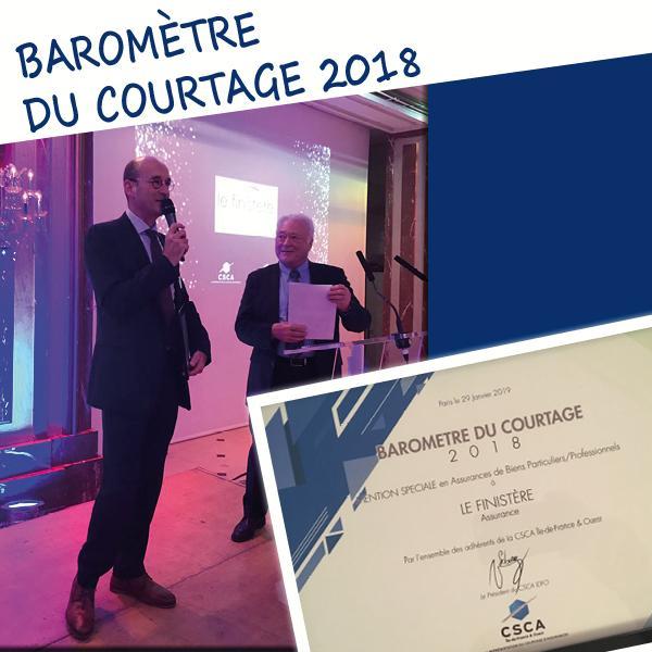 Vincent MACE - Directeur commercial LE FINISTERE ASSURANCE Jean-François WALBERT - Vice-Président de la CSCA.